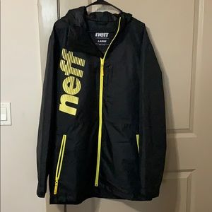 Neff Outerwear Snowboarding Jacket - Black